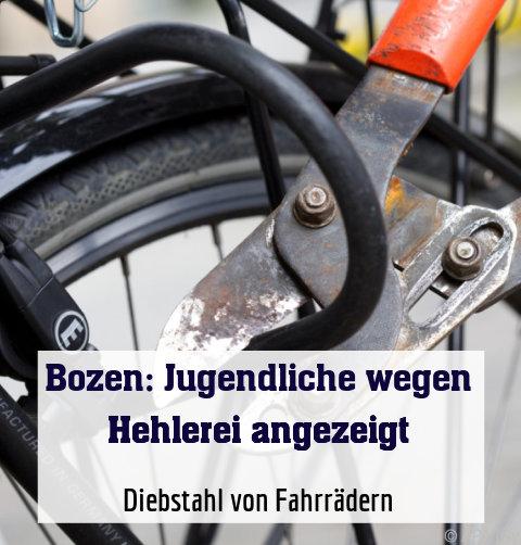 Diebstahl von Fahrrädern