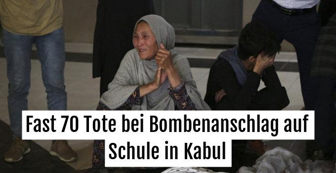 Große Trauer bei Angehörigen nach tödlichem Anschlag in Kabul