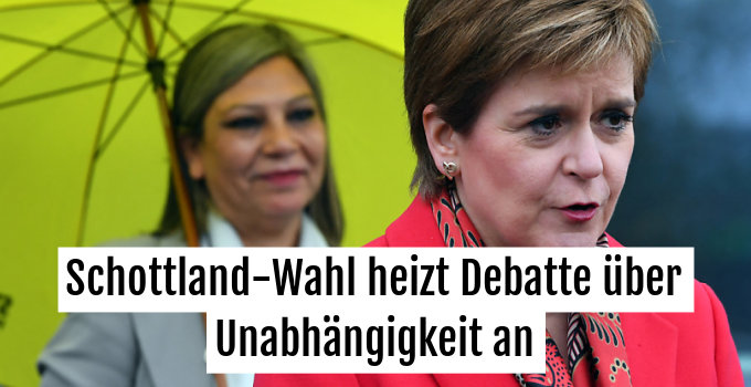 SNP-Chefin Sturgeon warnt London, Referendum abzulehnen