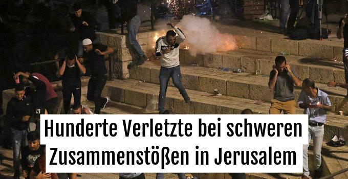 Gewaltsame Auseinandersetzungen in Jerusalem