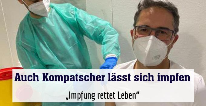 """""""Impfung rettet Leben"""""""