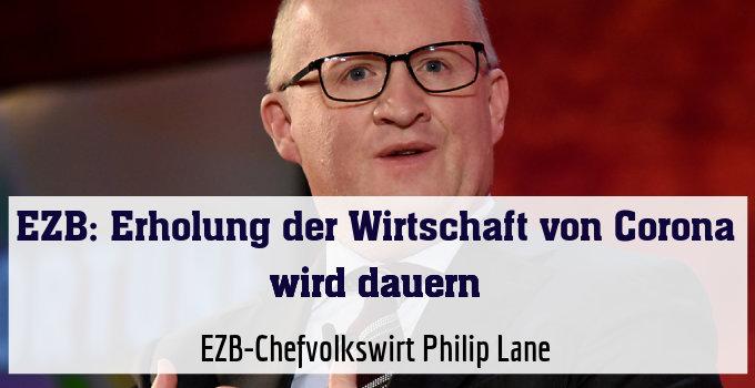 EZB-Chefvolkswirt Philip Lane