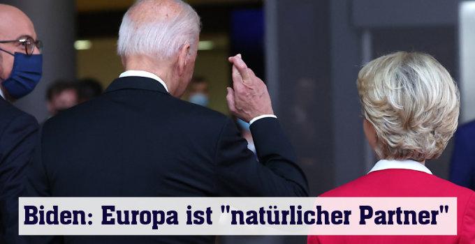 Biden bei der EU