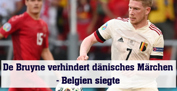 Kam, sah und siegte: Belgiens Star Kevin de Bruyne