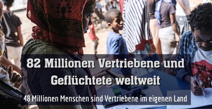 48 Millionen Menschen sind Vertriebene im eigenen Land