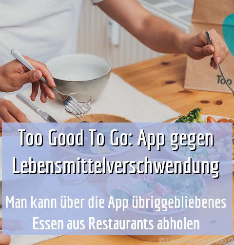 Man kann über die App übriggebliebenes Essen aus Restaurants abholen