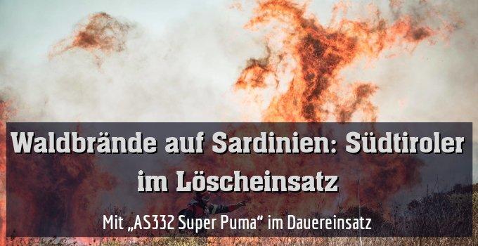 """Mit """"AS332 Super Puma"""" im Dauereinsatz"""