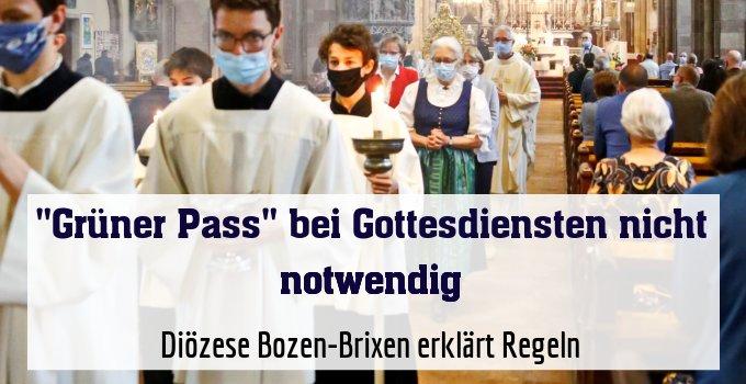 Diözese Bozen-Brixen erklärt Regeln