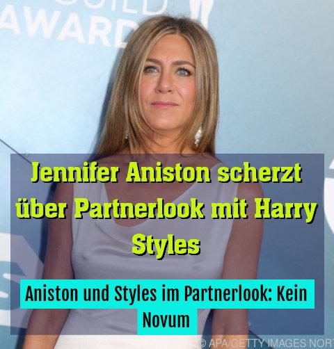 Aniston und Styles im Partnerlook: Kein Novum