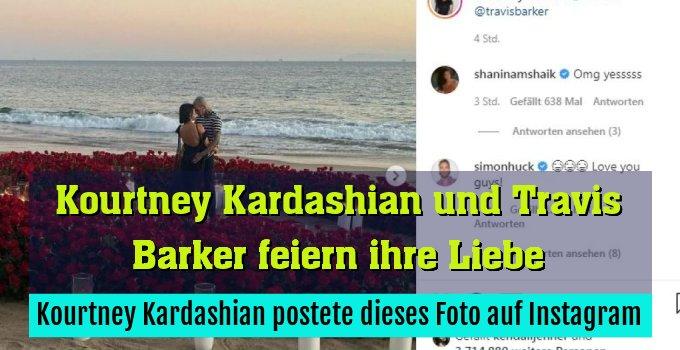 Kourtney Kardashian postete dieses Foto auf Instagram
