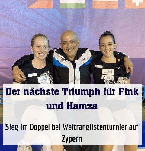 Sieg im Doppel bei Weltranglistenturnier auf Zypern