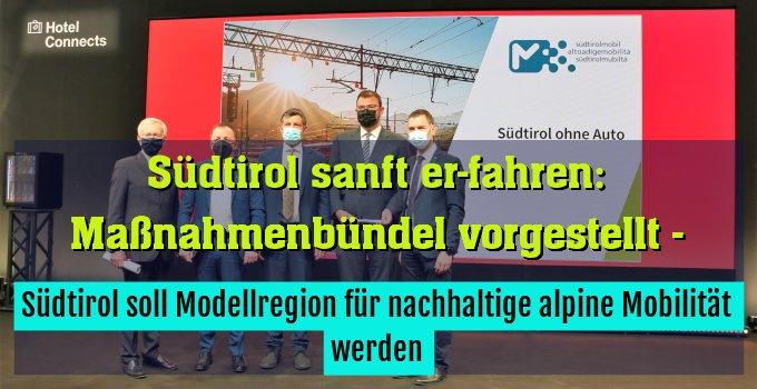 Südtirol soll Modellregion für nachhaltige alpine Mobilität werden