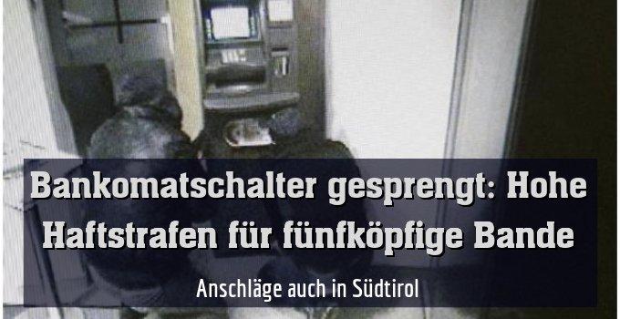 Anschläge auch in Südtirol