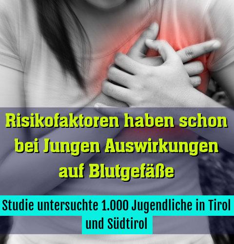 Studie untersuchte 1.000 Jugendliche in Tirol und Südtirol