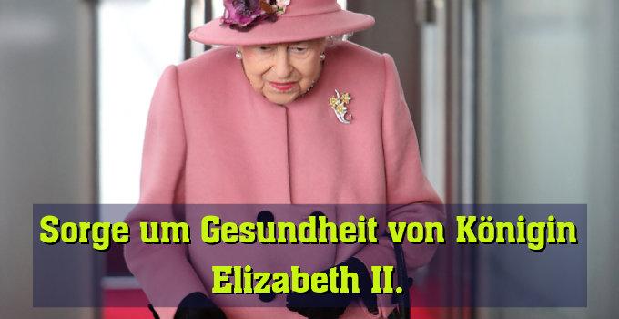 95-jährige britische Königin unterzog sich Voruntersuchungen
