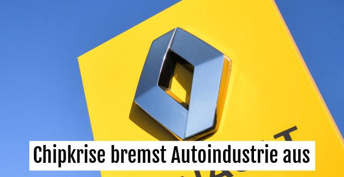 Renault baut heuer um eine halbe Million Autos weniger