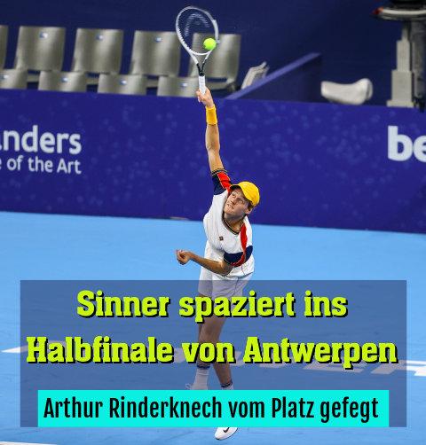 Arthur Rinderknech vom Platz gefegt