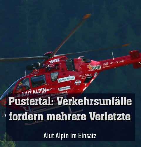 Aiut Alpin im Einsatz