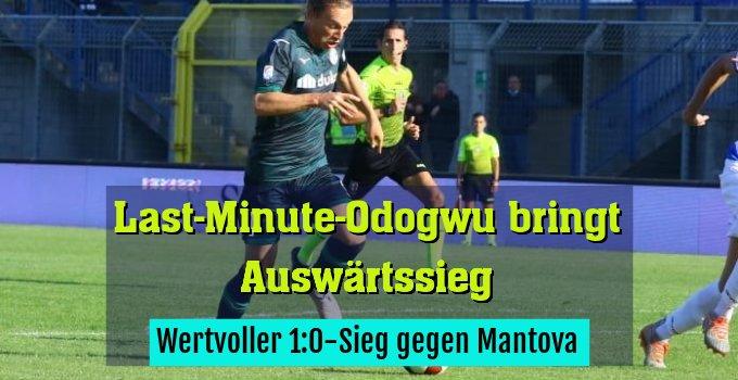 Wertvoller 1:0-Sieg gegen Mantova