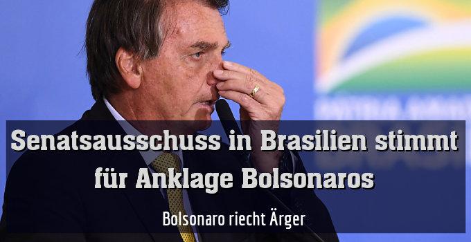Bolsonaro riecht Ärger