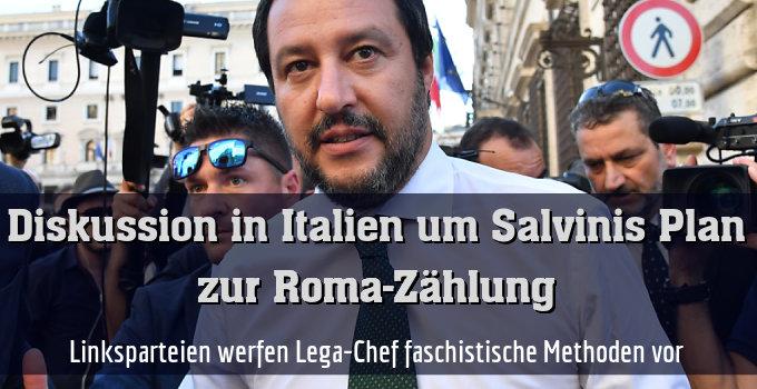 Linksparteien werfen Lega-Chef faschistische Methoden vor