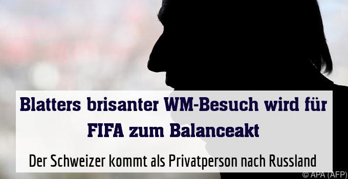 Der Schweizer kommt als Privatperson nach Russland