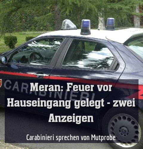 Carabinieri sprechen von Mutprobe