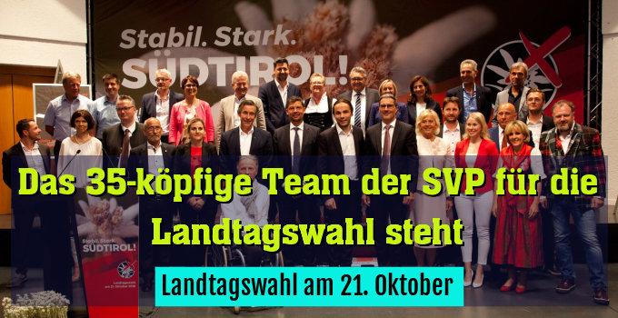Landtagswahl am 21. Oktober