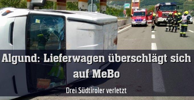 Drei Südtiroler verletzt