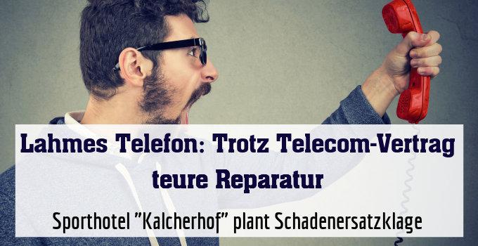 """Sporthotel """"Kalcherhof"""" plant Schadenersatzklage"""