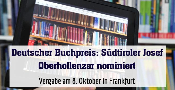 Vergabe am 8. Oktober in Frankfurt