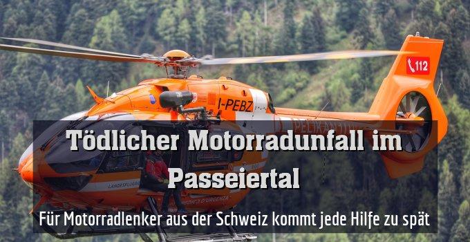 Für Motorradlenker aus der Schweiz kommt jede Hilfe zu spät