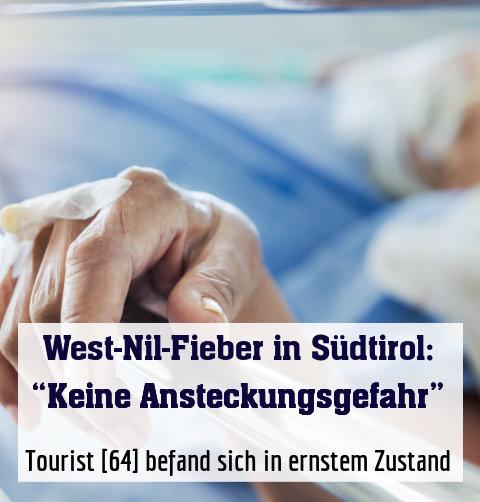 Tourist [64] befand sich in ernstem Zustand
