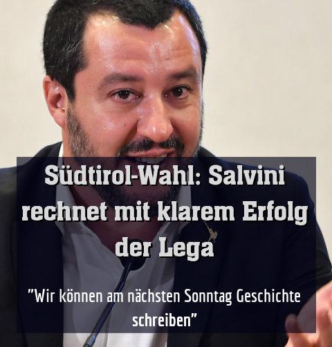 """""""Wir können am nächsten Sonntag Geschichte schreiben"""""""