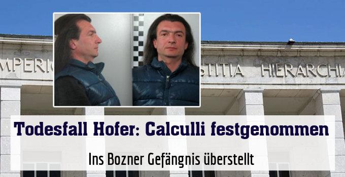 Ins Bozner Gefängnis überstellt