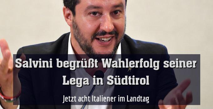 Jetzt acht Italiener im Landtag