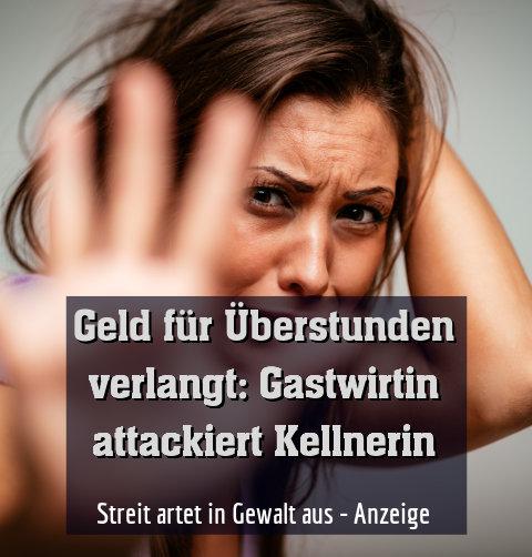 Streit artet in Gewalt aus - Anzeige