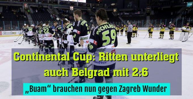 """""""Buam"""" brauchen nun gegen Zagreb Wunder"""