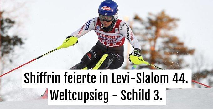 Mikaela Shiffrin (USA) dominierte in Levi