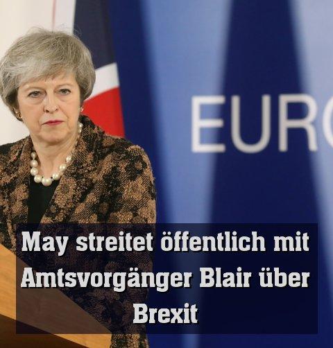 Britische Premierministerin kämpft um das Brexit-Abkommen