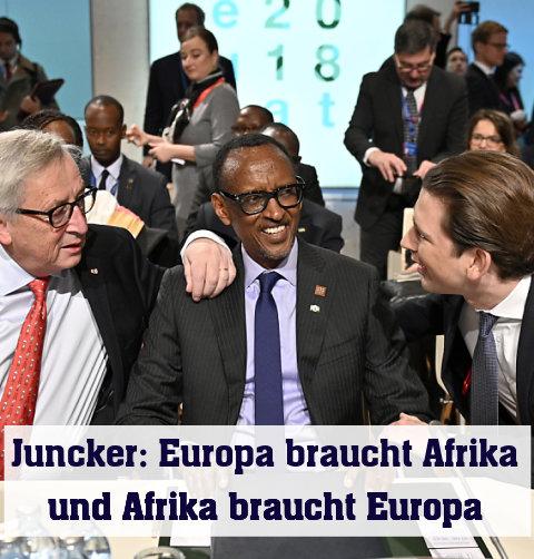 EU buhlt im Afrika