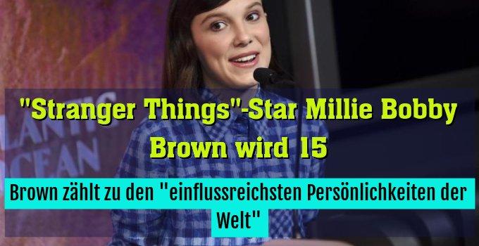 """Brown zählt zu den """"einflussreichsten Persönlichkeiten der Welt"""""""
