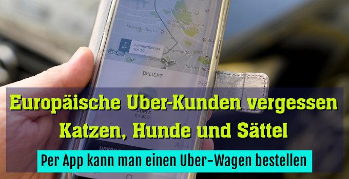 Per App kann man einen Uber-Wagen bestellen