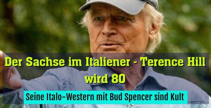 Seine Italo-Western mit Bud Spencer sind Kult