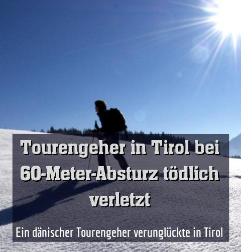 Ein dänischer Tourengeher verunglückte in Tirol