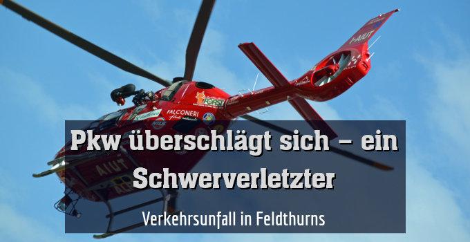 Verkehrsunfall in Feldthurns