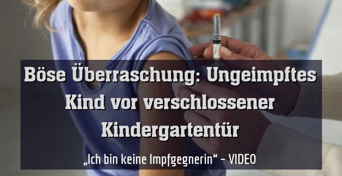 """""""Ich bin keine Impfgegnerin"""" – VIDEO"""