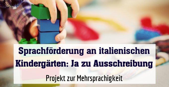 Projekt zurMehrsprachigkeit