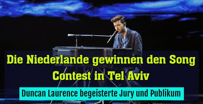Duncan Laurence begeisterte Jury und Publikum