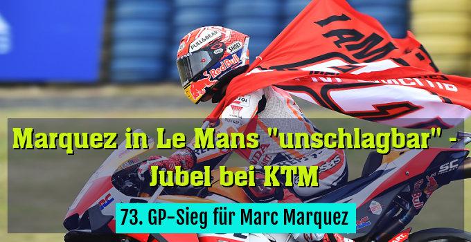73. GP-Sieg für Marc Marquez